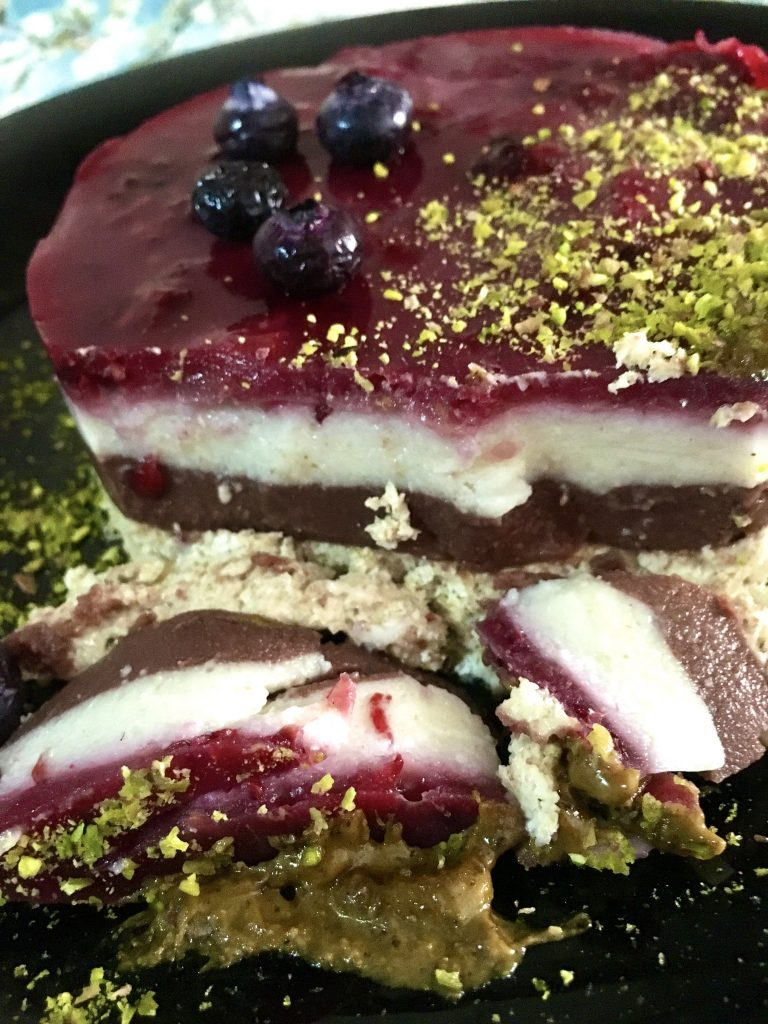 cheesecake multistrato Tsunami Nutrition