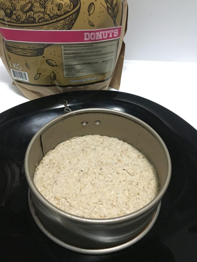 base per cheesecake multistrato Tsunami